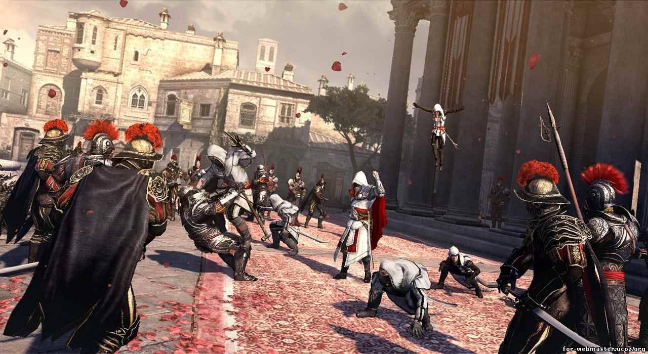 Скриншоты к PS3 Assassin's Creed Brotherhood (2010) RUS. Интервью с п
